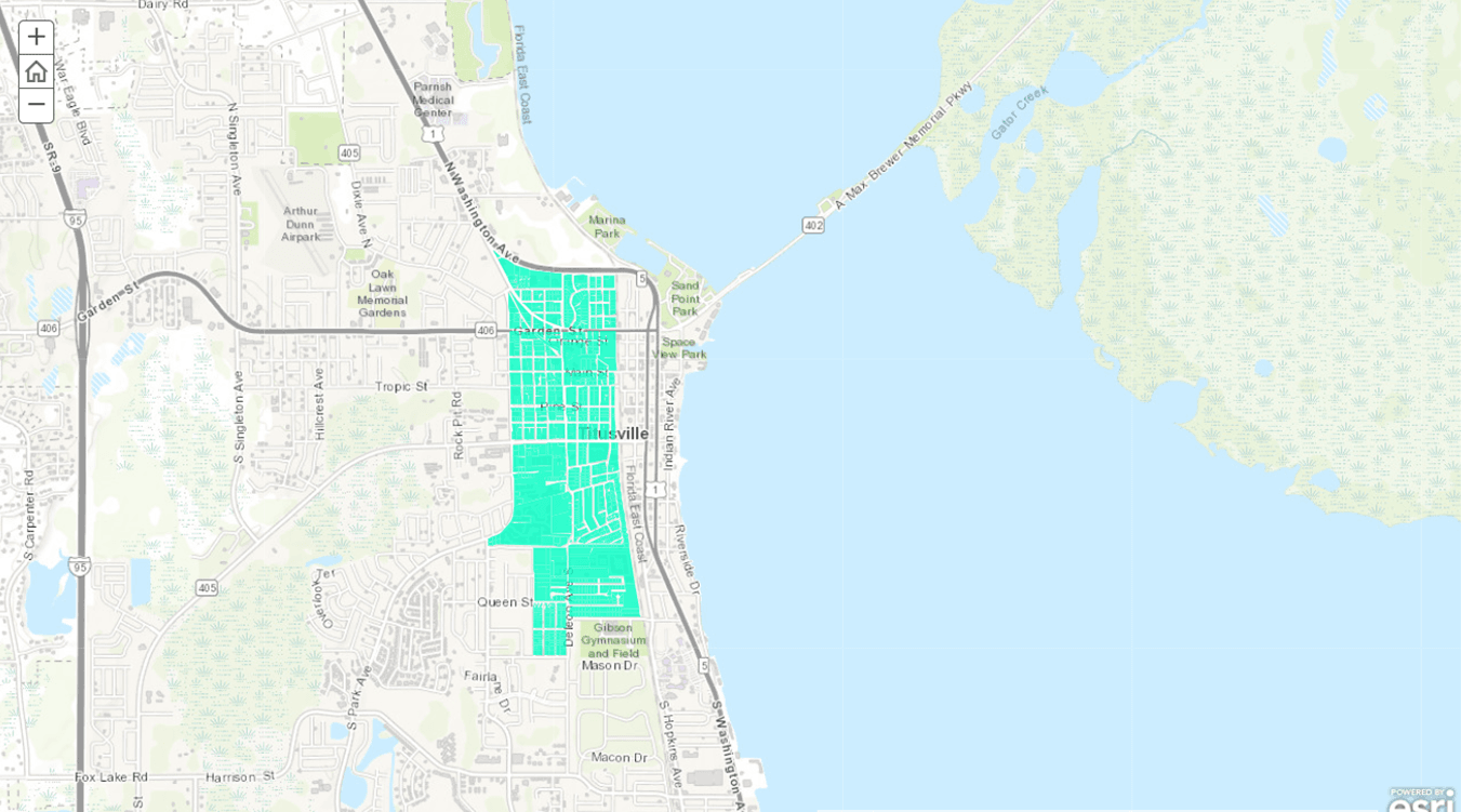 Titusville Opportunity Zone