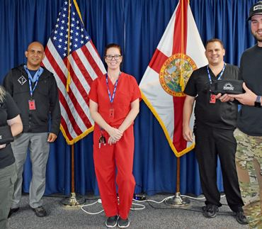 Titusville Police Department's Officers received 50 Individual First Aid Kits (IFAK), thanks to the