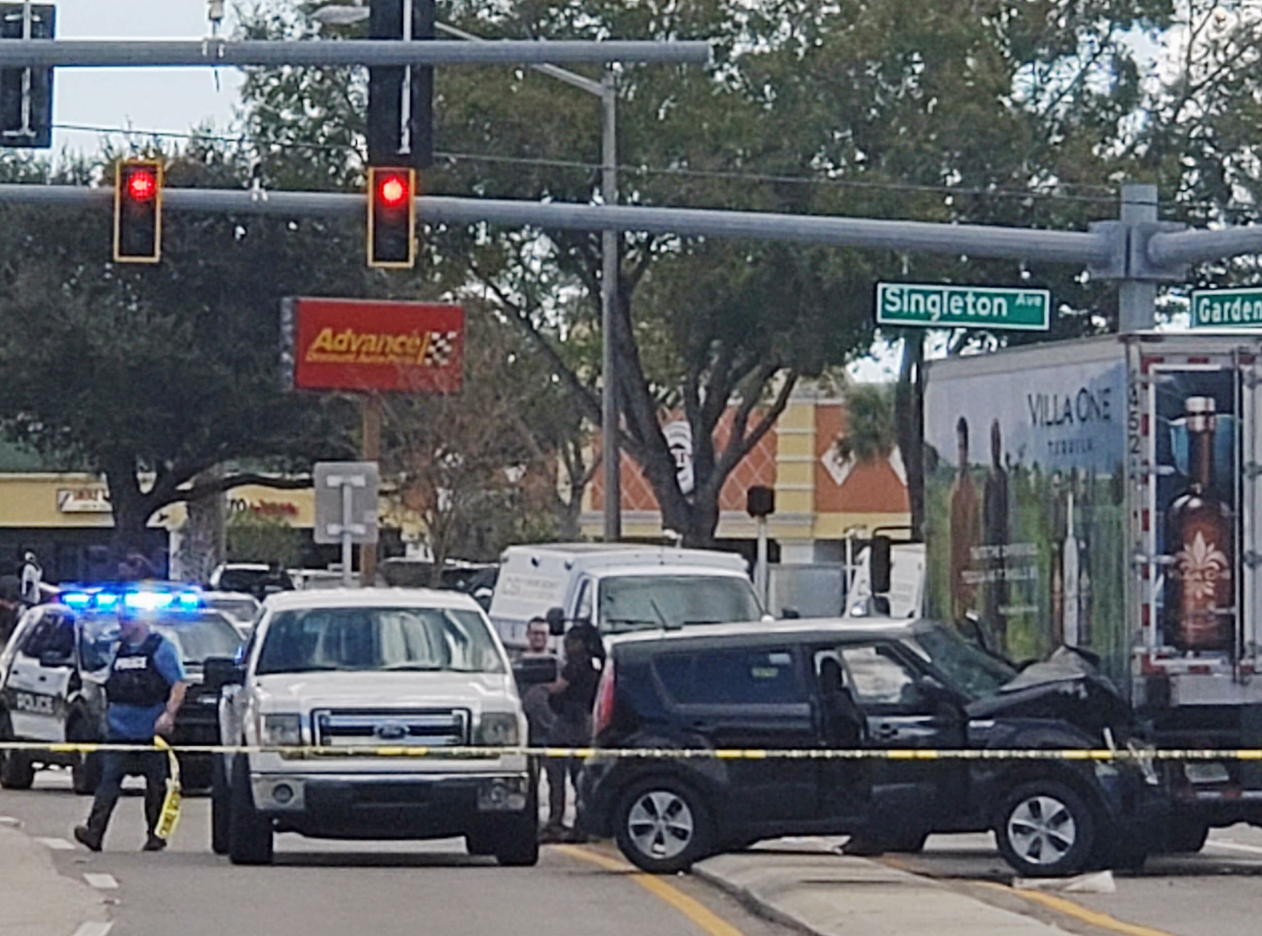 Traffic Crash at Garden St and Singleton Ave