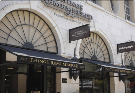 Things Remembered Store Awning System