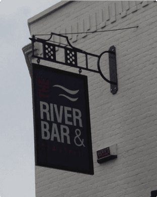 The River Bar Blade Sign